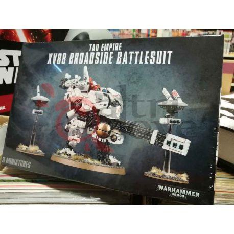 Tau Empire: XV88 Broadside Battlesuit 99120113063   Warhammer Games Workshop Scatola Di Montaggio