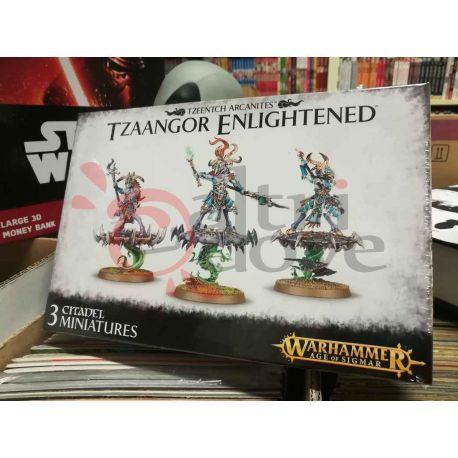 Tzeentech Arcanites: Tzaangor Enlightened 99120201064   Warhammer Games Workshop Scatola Di Montaggio