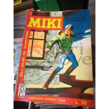 Gli Albi di Capitan Miki settimanale L.30 17    Casa Editrice Dardo Italiani