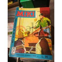 Gli Albi di Capitan Miki settimanale L.30 18    Casa Editrice Dardo Italiani