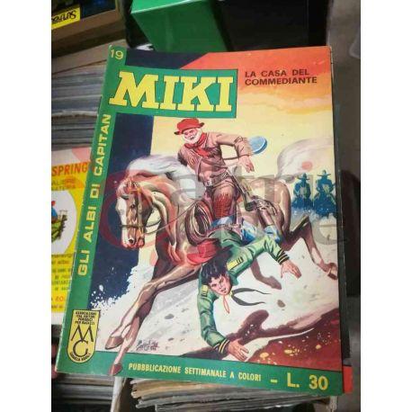 Gli Albi di Capitan Miki settimanale L.30 19    Casa Editrice Dardo Italiani
