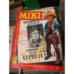 Gli Albi di Capitan Miki settimanale L.30 23    Casa Editrice Dardo Italiani
