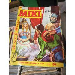 Gli Albi di Capitan Miki settimanale L.30 28    Casa Editrice Dardo Italiani