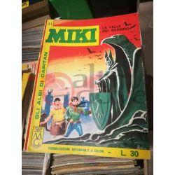 Gli Albi di Capitan Miki settimanale L.30 31    Casa Editrice Dardo Italiani