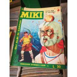 Gli Albi di Capitan Miki settimanale L.30 33    Casa Editrice Dardo Italiani