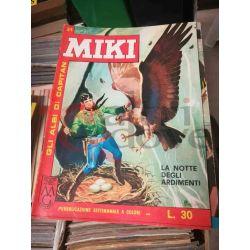 Gli Albi di Capitan Miki settimanale L.30 34    Casa Editrice Dardo Italiani