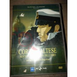 Corto Maltese - Sotto la bandiera dell'oro      DVD