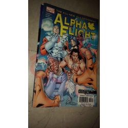 Alpha Flight 3    Marvel Comics Marvel Comics (inglese)