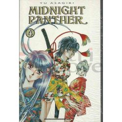 Midnight Panther - Serie Completa 1-4  ASAGIRI Yu  Jemm Ed. Giapponesi