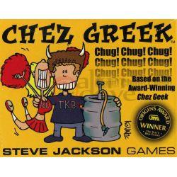Chez Greek     Steve Jackson Games Cardgame