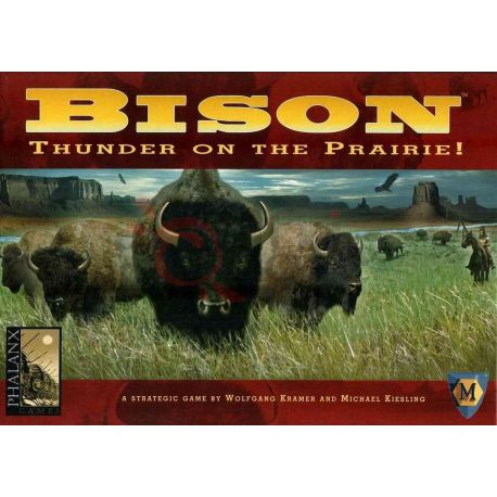 Bison     Phalanx Games Boardgame
