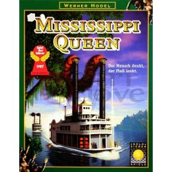 Mississippi Queen     Goldsieber Spiele Boardgame