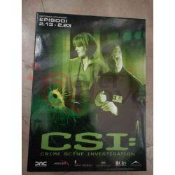 C.S.I - Crime Scene Investigation - Stagione 2 13-23     DVD