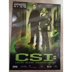 C.S.I - Crime Scene Investigation - Stagione 2 1-12     DVD