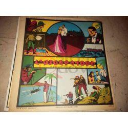 11' episodio delle avventure di Jim - L'usurpatore    Albi Grandi Avventure Club Anni 30 Vintage