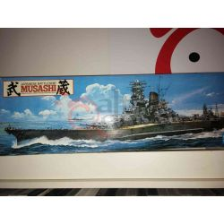 Japanese Battleship - MUSASHI scala 1:350      Scatola Di Montaggio