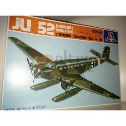 JU 52 - Junkers scala 1:72     Italeri Scatola Di Montaggio