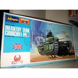 Infantry Tank Churchill Mk.1 scala 1/72 Minibox 27    Hasegawa Scatola Di Montaggio
