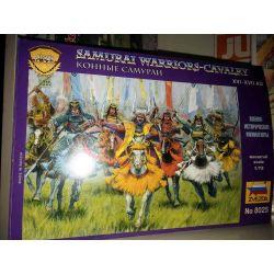 Samurai Warriors-Cavalry scala 1:72     Zvezda Scatola Di Montaggio