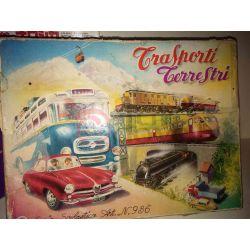 Trasporti terrestri - Set timbri scolastici      Vintage