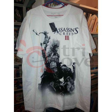 Creed Magliette Iii T Bianca Shirt Altridove Srls Assassin's Nnmw80