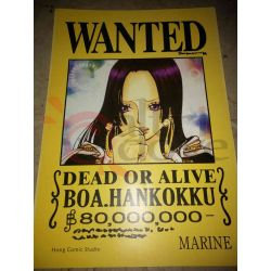 One Piece - WANTED Poster - Bopa.Hankokku     Hong Comic Studio Parete