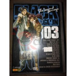 Black Lagoon The Second Barrage 3    Panini Comics DVD