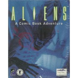 Aliens A Comic Book Adventure     Mindscape DOS Retrogame