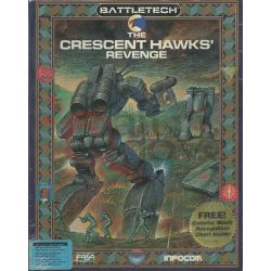 Battletech The Crescent Hawks' Revenge     Infocom DOS Retrogame
