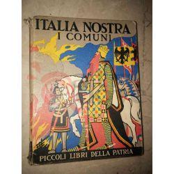I Comuni    Picoli Libri della Patria Salani Editore Saggio