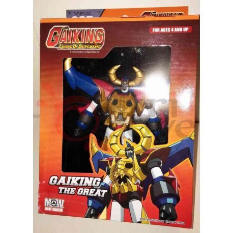 Gaiking - Gaiking The Great     Most Wanted Action Figure