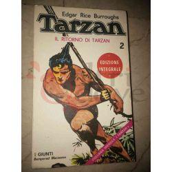 Il ritorno di Tarzan 2 BURROUGHS Edgar Rice   Giunti Bemporad Marzocco Avventura
