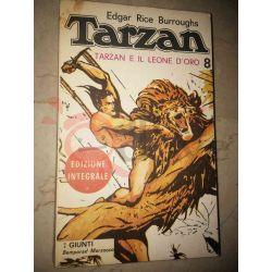 Tarzan e il leone d'oro 8 BURROUGHS Edgar Rice   Giunti Bemporad Marzocco Avventura