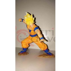 Dragon Ball Z Goku Super Saiyan     Banpresto Action Figure