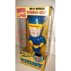 Bobble Head X-Men - Cyclops    Wacky Wobbler Marvel Comics Action Figure
