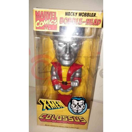 Bobble Head X-Men - Colossus    Wacky Wobbler Marvel Comics Action Figure