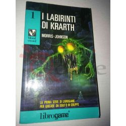 I labirinti di Krarth 1   Blood Sword Ed. E. Elle-Trieste Librogame