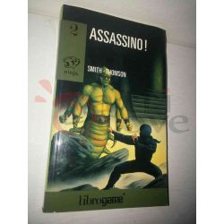 Assassino! 2 SMITH/THOMSON  Ninja Ed. E. Elle-Trieste Librogame