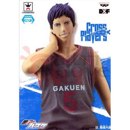 Kuroko No Basket Cross X Players - Daiki Aomine     Banpresto Action Figure