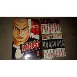 Worst la legge del più forte - sequenza Da 1 a 16   Manga Mix  Panini Comics Giapponesi