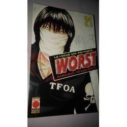 Worst la legge del più forte 21    Panini Comics Giapponesi