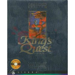 King' Quest 1/6 Collector's Edition 1-6   King's Quest Sierra DOS Retrogame