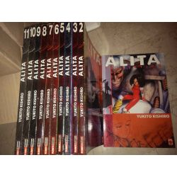 Alita collection - Sequenza Da 1 a 11 KISHIRO Yukito   Panini Comics Giapponesi