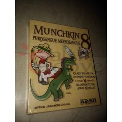 Munchkin 8 - Purosangue Mezzosangue     Raven Cardgame