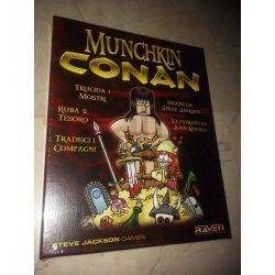 Munchkin Conan - Italiano     Raven Cardgame