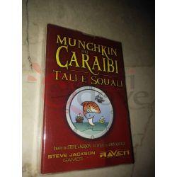 Munchkin dei Caraibi - Tali e Squali     Raven Cardgame