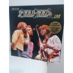 Here at last… BEE GEES ...LIVE!      Vinile