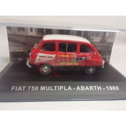 Fiat 750 multipla abarth 1960    Veicoli pubblicitari d'epoca eaglemoss Vintage
