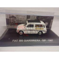 Fiat 500 giardiniera sip 1967    Veicoli pubblicitari d'epoca eaglemoss Vintage