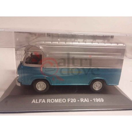 Alfa Romeo F20 RAI 1969    Veicoli pubblicitari d'epoca eaglemoss Vintage